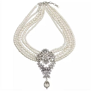 Hepburn Vintage Pearl Necklace