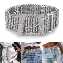 Load image into Gallery viewer, Full Rhinestone Belt