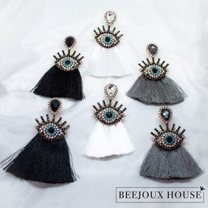 Ella Eye Tassel Earring