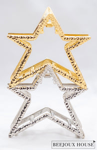 Sarine Star Hair Claw Clips