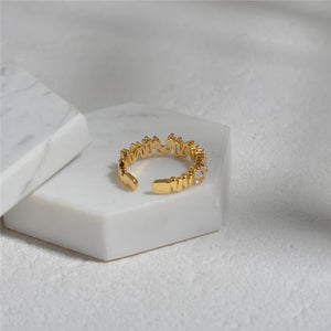 Sienna 18K Gold Plated Ring