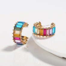Load image into Gallery viewer, Claire Mini Colourful Earrings