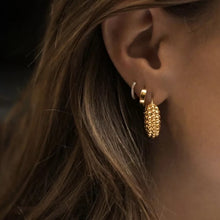 Load image into Gallery viewer, Grace 18k Gold Plated Mini Hoops