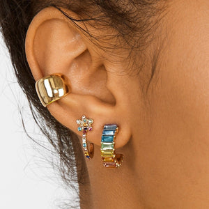 Claire Mini Colourful Earrings