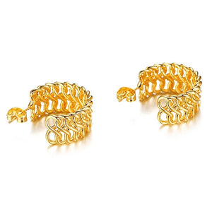 Venice 18k Gold Plated Mini Hoops