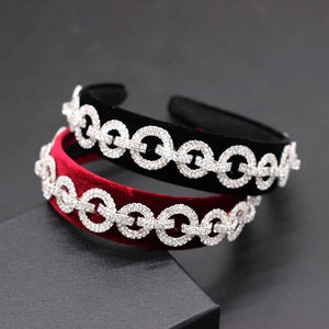 Paula Velvet Chain Hairband