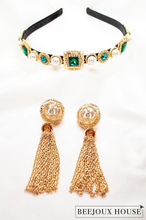 Load image into Gallery viewer, Chloe Gold Drop Earrings