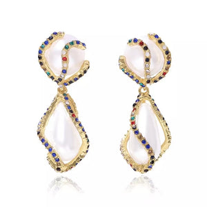 Liana Pearl Long Earrings