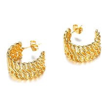 Load image into Gallery viewer, Venice 18k Gold Plated Mini Hoops