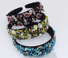 Load image into Gallery viewer, Vanessa Rhinestone Headband