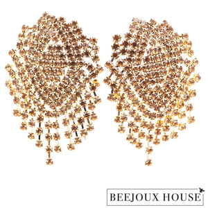 Isabella Sparkly Drop Earrings