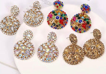 Load image into Gallery viewer, Kerry Rhinestone Earrings