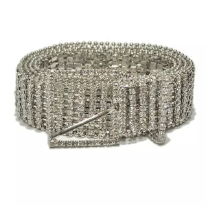 Full Rhinestone Belt