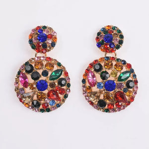 Kerry Rhinestone Earrings