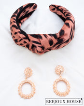 Load image into Gallery viewer, Maral Leopard Print Headband