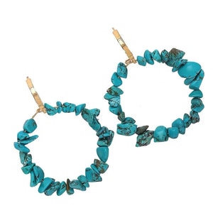 Meliné Turquoise Drop Earrings