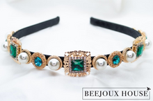 Load image into Gallery viewer, Paulette Rhinestone Headband
