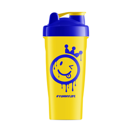 Yummy Sports Yellow & Blue Shaker - 600ML - Yummy Sports