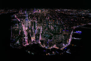 Manhattan Island by Night