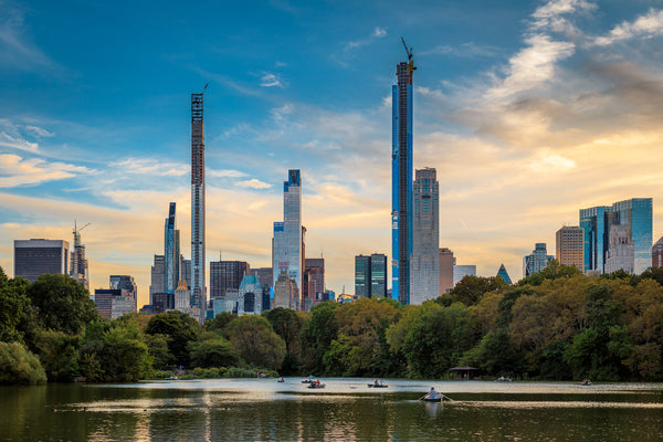 Central Park - Midtown Manhattan Skyline