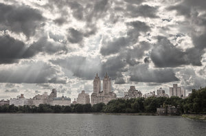 Dense Clouds above Central Park