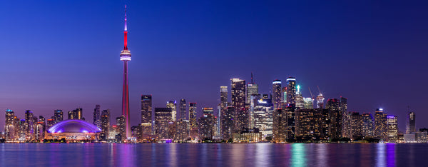 Toronto Skyline at Dusk - Ultra High Resolution Panorama