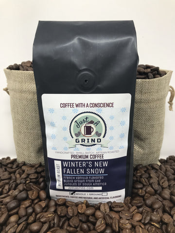 Winter's New Fallen Snow - French Vanilla Espresso / 12 oz / FrenchVanilla- Just a Grind