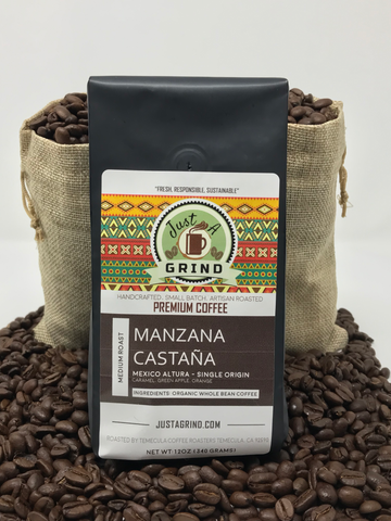 Manzana Castaña - Mexico - Coffee, Latte, Cappuccino Mugs, Spoons, and accessories - Just a Grind