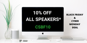 Black Firday Ceiling speaker Sale 10% OFF