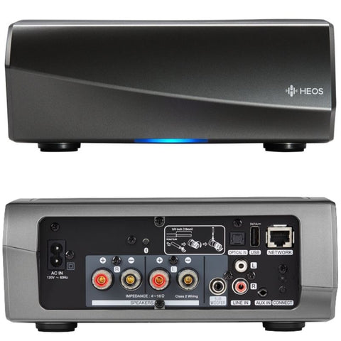 Heos AMP Hs 2 front and back