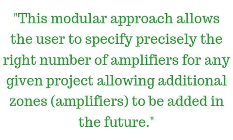 Multi Zone Amplifiers quote