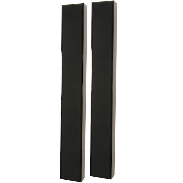 DLS-FLATBOXSLIMXL-BLK-On-Wall-Speaker