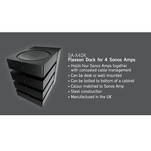 Flexson Dock For 4x Sonos Amps (Each)