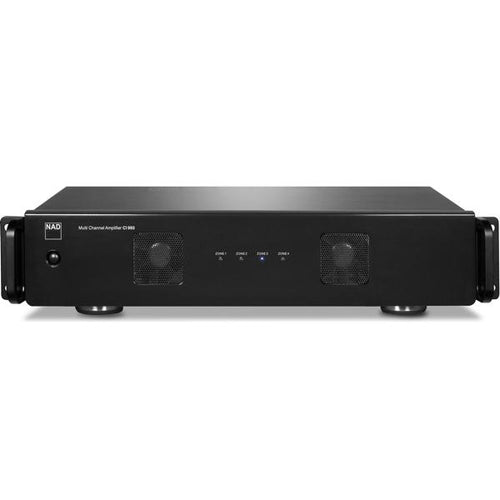 NAD 980 BluOS 8 Channel Power Amplifier Black (Each)