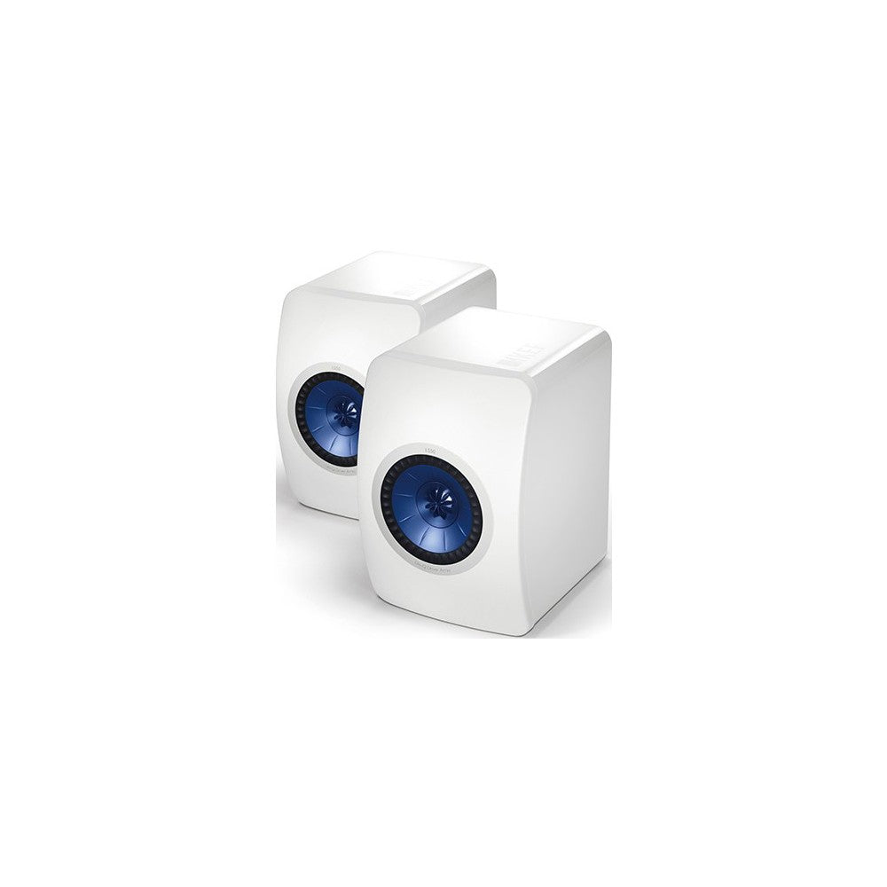 Kef LS50 (White) Loudspeakers