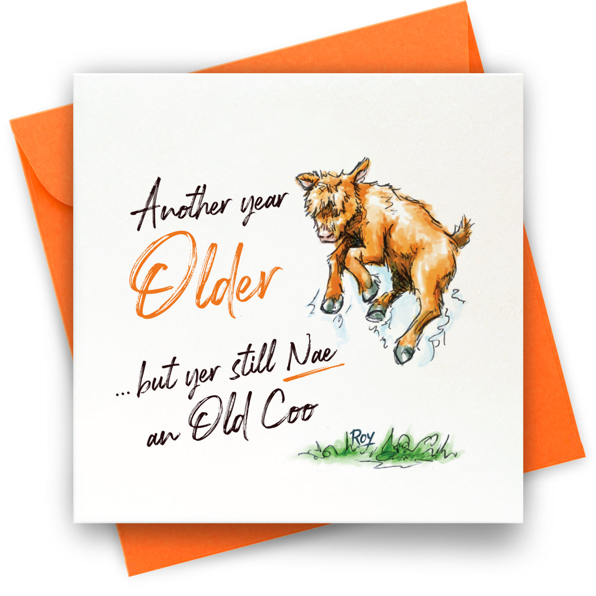 Another Year Older: Greeting Card