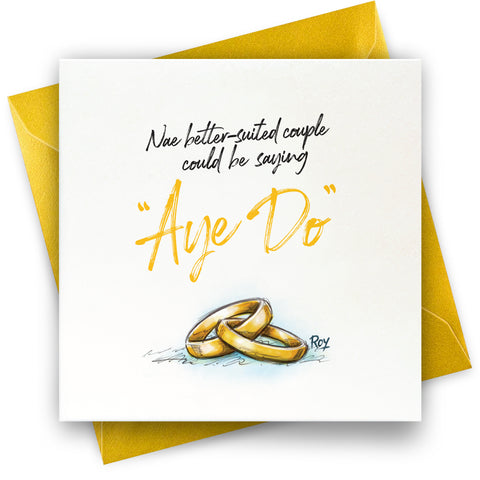 Aye Do: Greeting Card