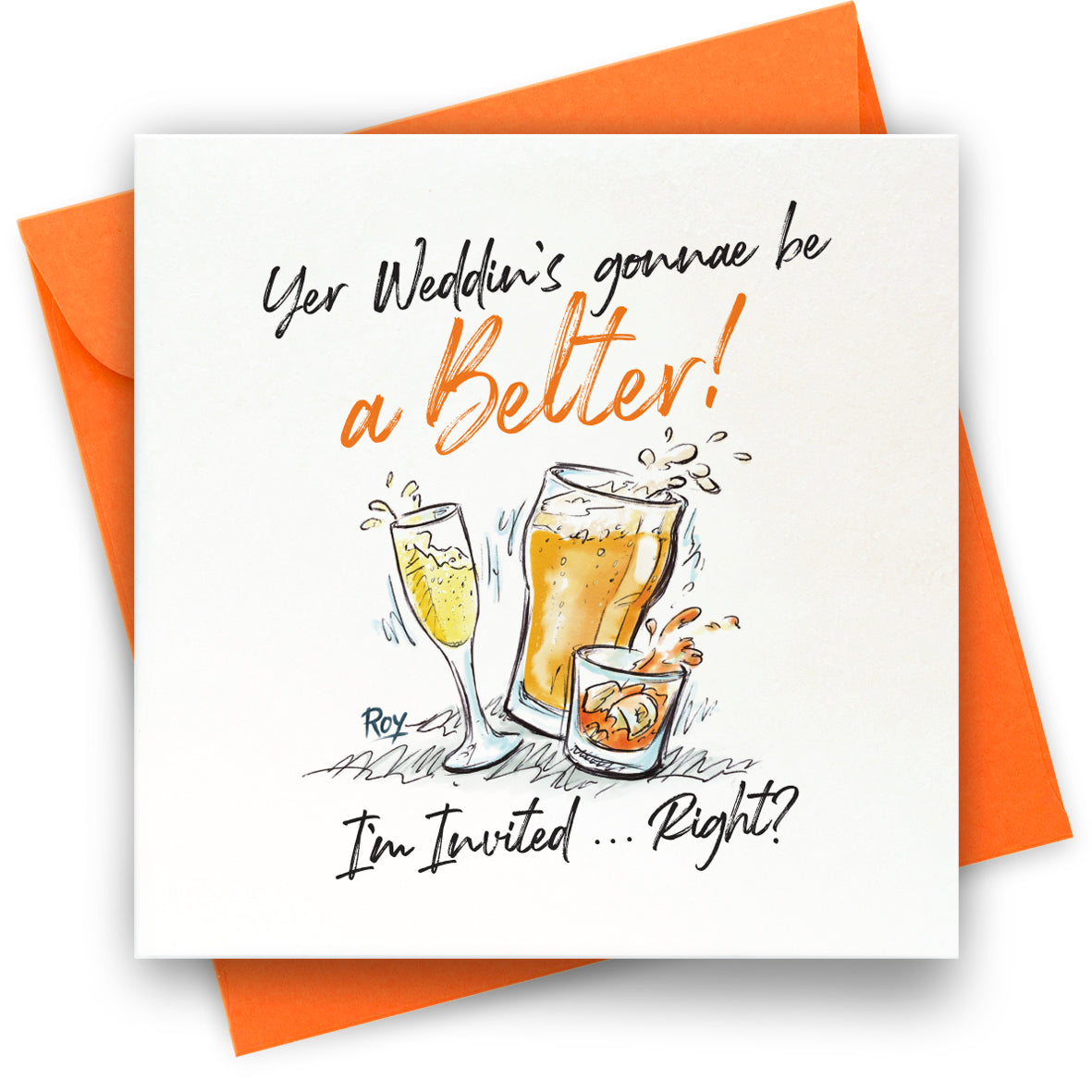 Belter Wedding: Greeting Card