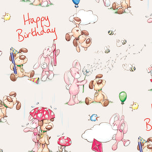 Rufus and Bunbun: Birthday Gift Wrap