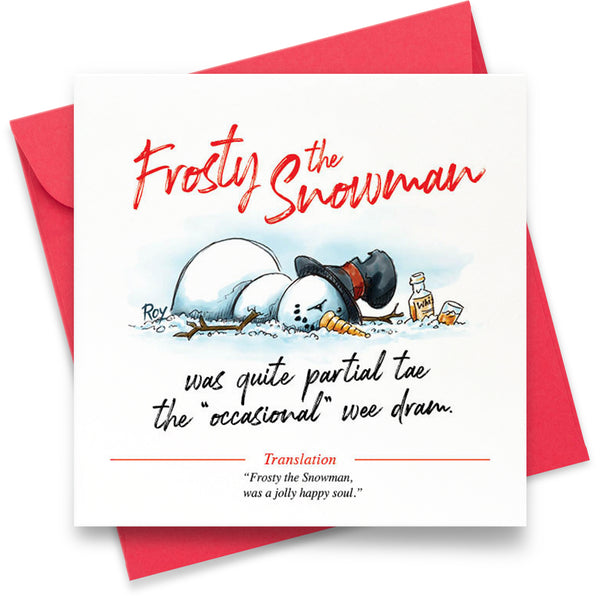 Frosty the Snowman: Greeting Card