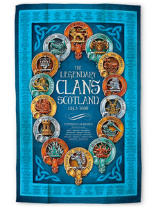 Clans: Tea Towel