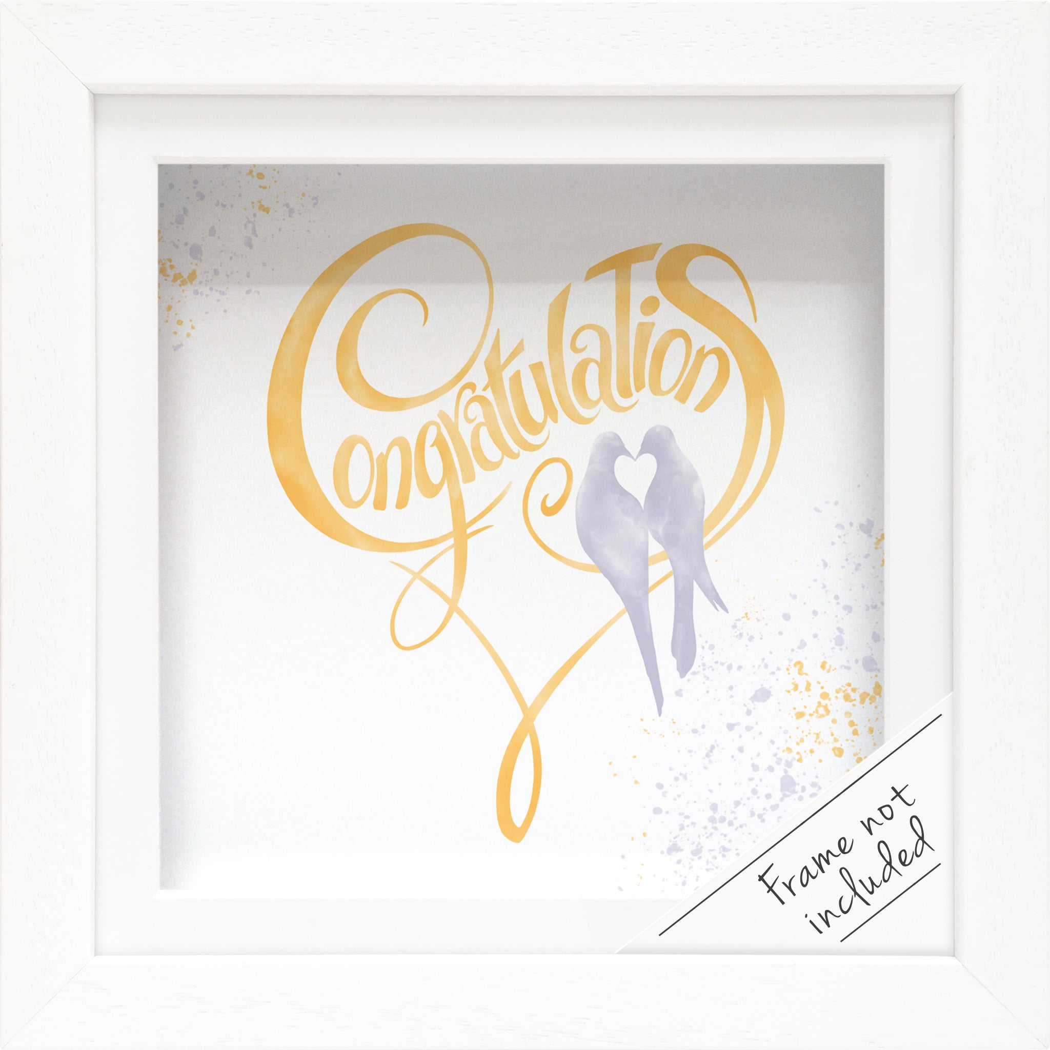 Congratulation Doves: Print