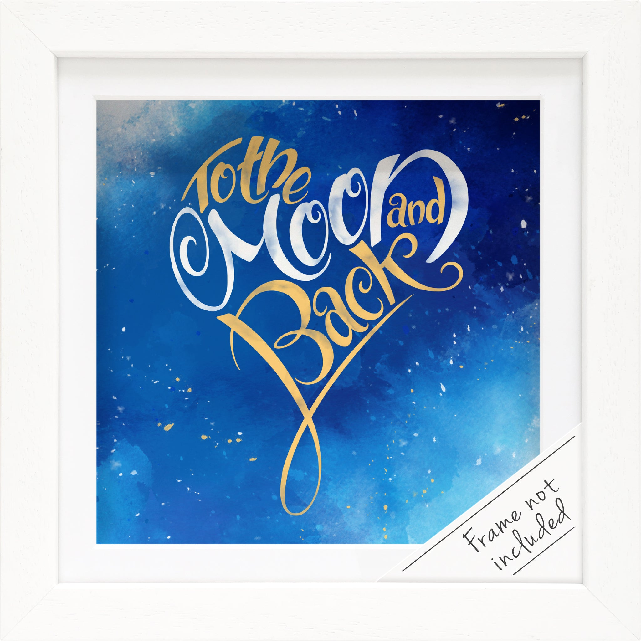 Moon and Back: Print