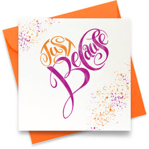 Just Because: Greeting Card