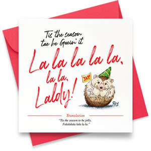 La La Laldy: Greeting Card