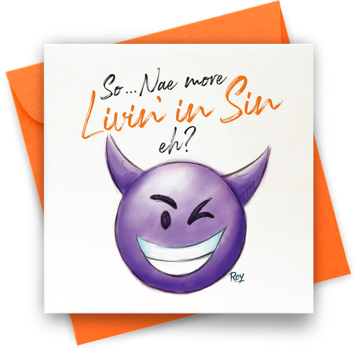 Livin in Sin: Greeting Card