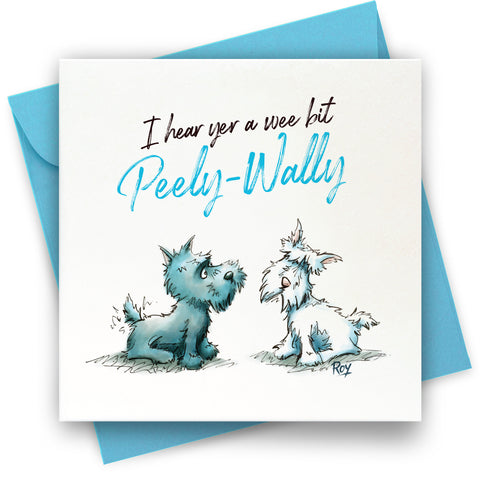 Peely Wally: Greeting Card
