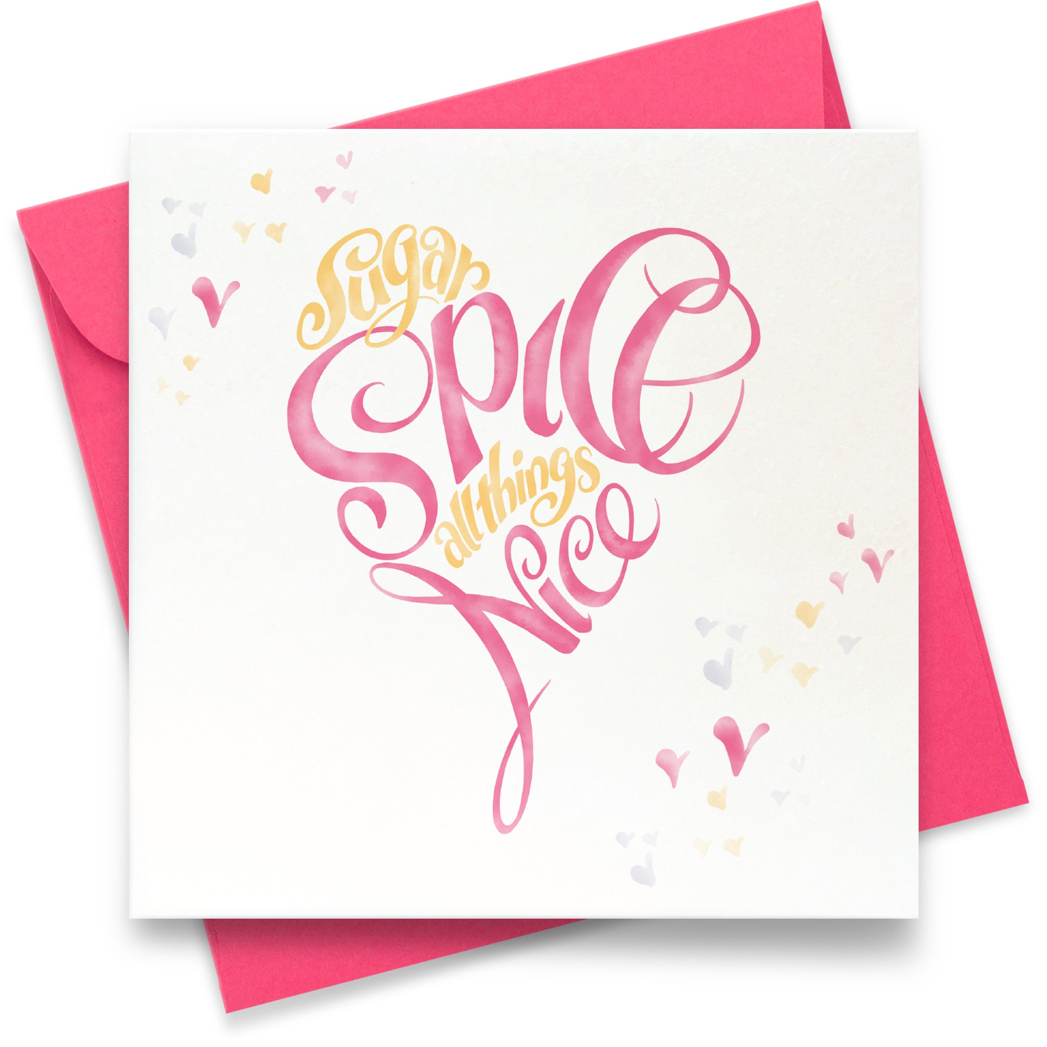 Sugar and Spice: Greeting Card