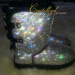 Crystallized Women's Adult Bailey Bow UGG Boots Adorned with Swarovski® Crystals