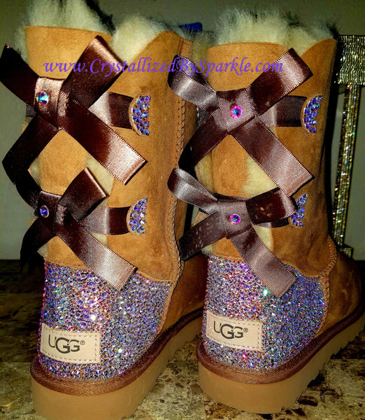 Women's Bailey Bow UGG Boots Strassed with Swarovski®  Crystals